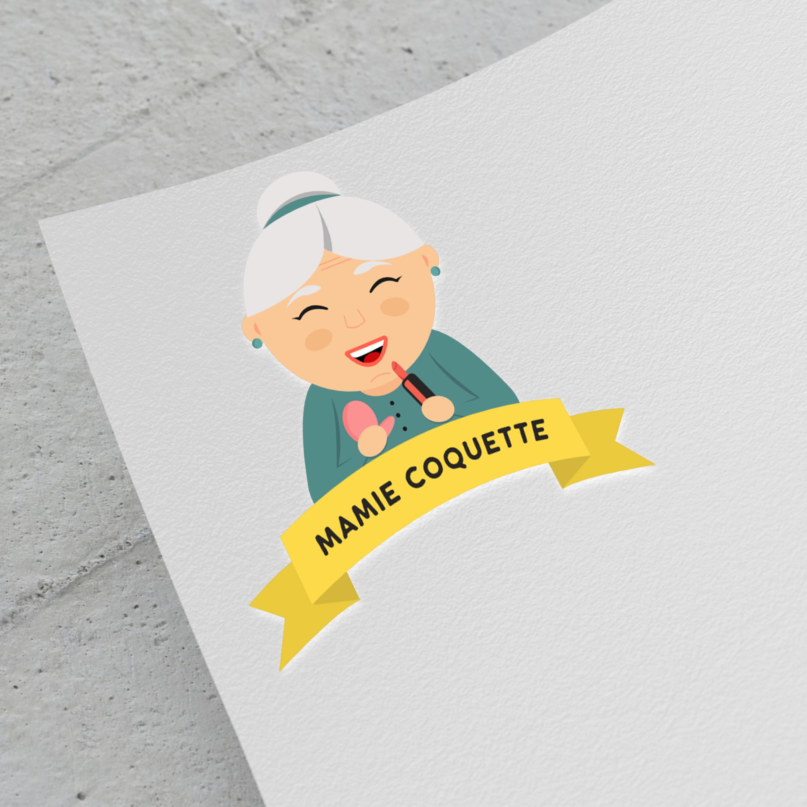 Mamie coquette logo